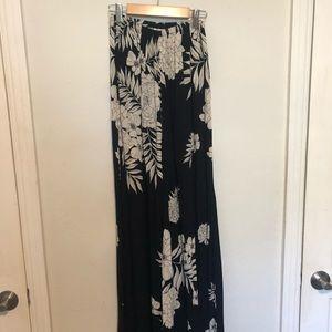 Billabong Long Wide Leg Floral Pants